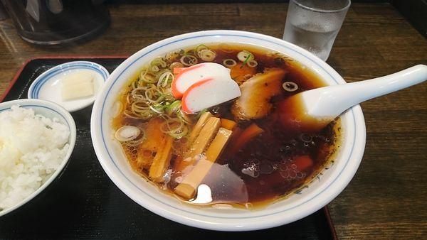 「メンマ麺」@中華そば 大石家 飯田店の写真