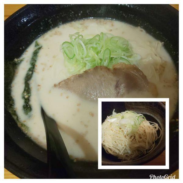 「豚骨ラーメン」@壱骨麺の写真