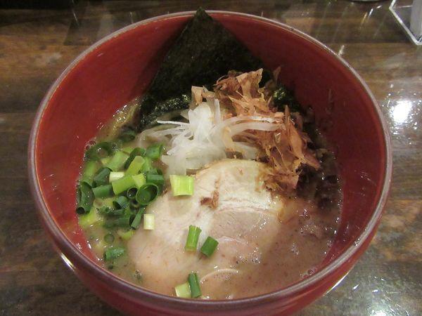 「限定 節とんこつ(880円)+替え玉食べ放題」@活龍 期間限定麺処 みつきの写真