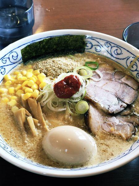 「白味噌」@麺屋 必道の写真