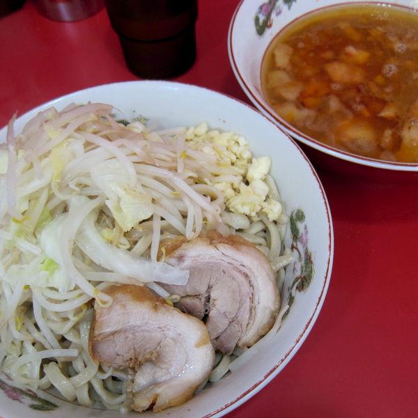 「小 750円 + つけ麺 150円(ニンニク)」@ラーメン二郎 札幌店の写真