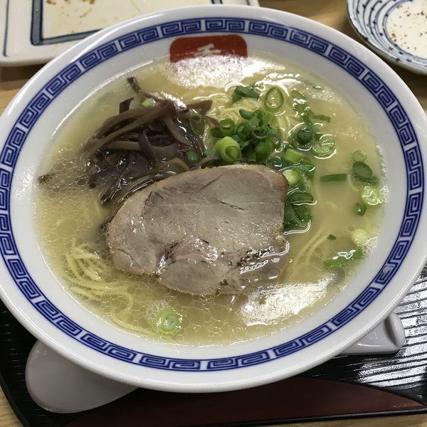 「長浜ラーメン(¥650)」@長浜らーめん 呑龍の写真
