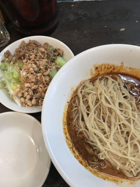 「汁なし担々麺」@中国酒家 天福分の写真