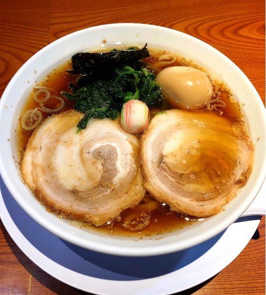 「味玉らぁめん(醤油)」@らぁめん 生姜は文化。の写真
