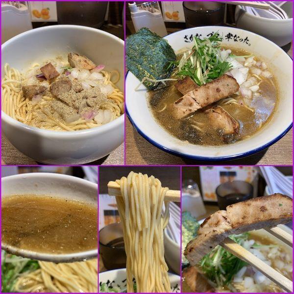 「煮干らーめん¥800+和え玉¥200」@さかなとブタで幸なった。の写真