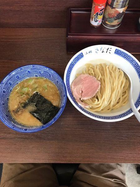 「つけ麺 800円」@つけめん さなだの写真