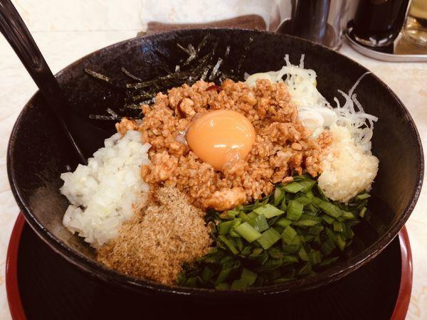 「台湾まぜそば」@麺屋みのわの写真