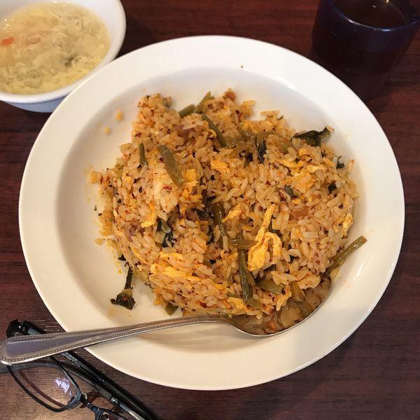「高菜ピリ辛チャーハン」@中国家庭料理 你好 本店の写真
