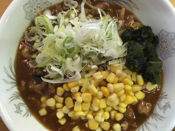 「【限定】汁なし甘辛ブタ麺 850円」@ひかり食堂の写真