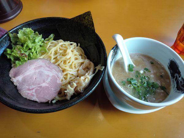 「濃厚塩つけめん¥800」@麺屋 扇 SENの写真
