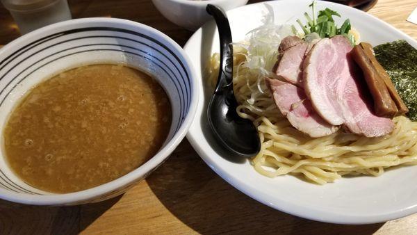 「コク醤油つけ麺」@麺肴 ひづきの写真