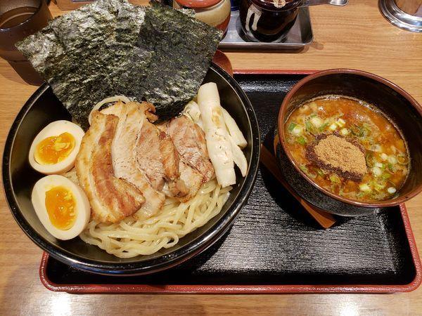 「特製つけ麺 大盛(無料)」@らーめん・つけめん 劔の写真