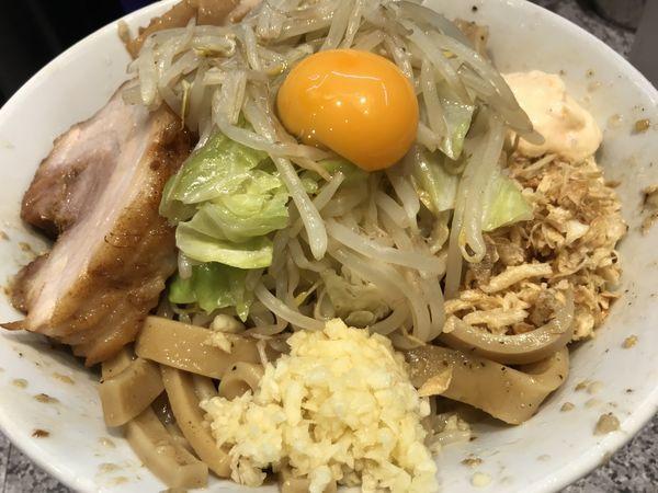 「汁なしそば 中盛 (豪麺) 850円」@ラーメン宮郎の写真