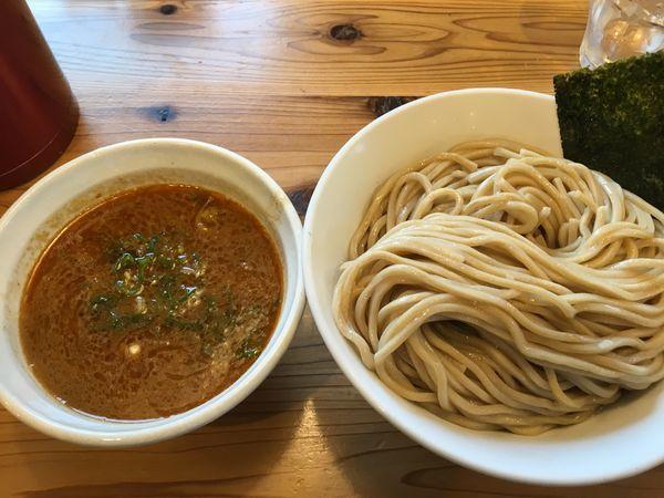 「海老つけ麺(大盛)」@らーめん いつ樹 本店の写真