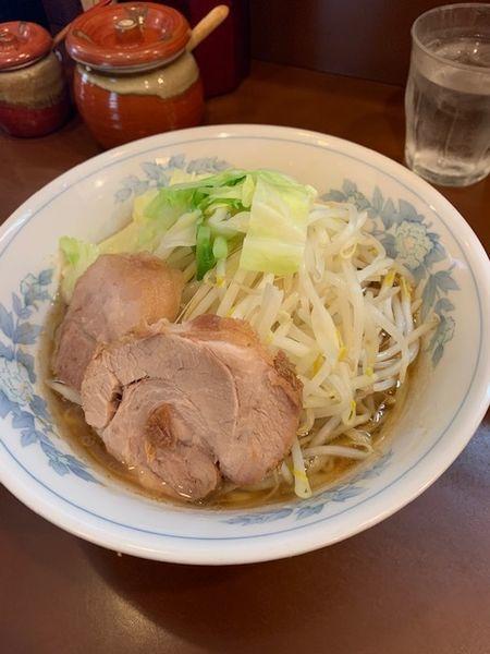 「らーめん 800円(アブラマシ)」@らーめん陸の写真