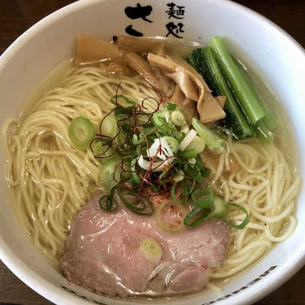 「豊魚鶏だし塩ラーメン(中盛)」@麺処 さとうの写真