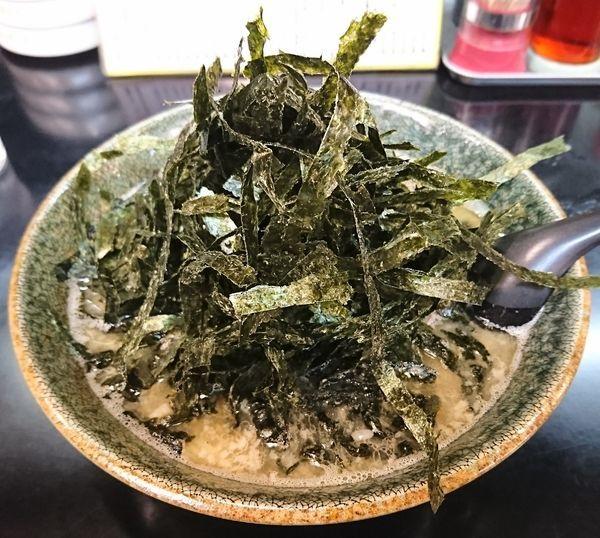 「のりらーめん(750円)」@まるみ 醤油専門店の写真