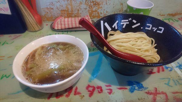 「魚貝豚つけ麺スパイシー」@つけ麺屋 丸孫商店の写真