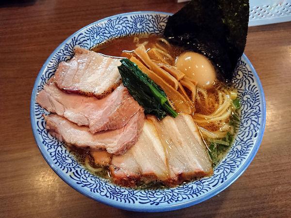 「特製生姜醤油そば」@煮干しつけ麺 宮元の写真