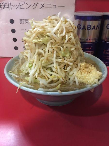 「ラーメン 普通盛 野菜マシマシ ニンニク 濃いめ アブラ」@ラーメン大 名古屋店の写真