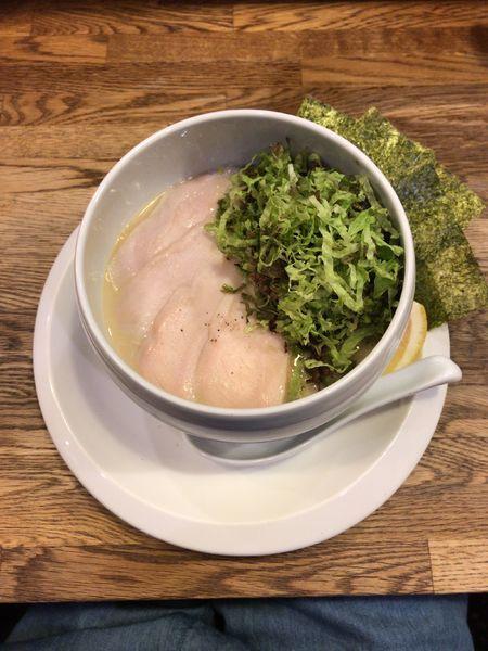 「鶏白湯ラーメン(塩)」@麺屋時茂の写真