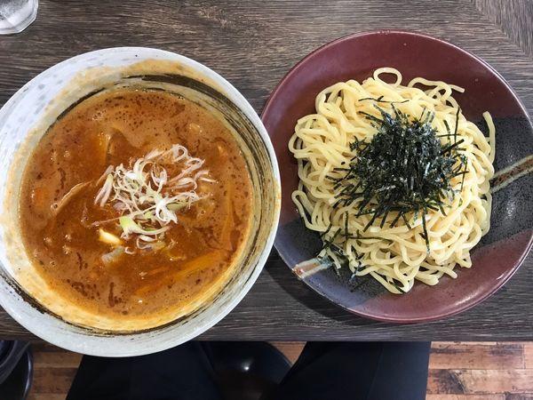「ベジポタ辛つけ麺 メンマ 1,000円」@まるのの写真