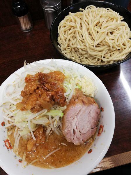 「小つけ麺」@ラーメン二郎 めじろ台店の写真