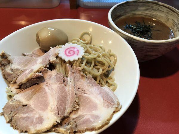 「味玉チャーシューつけ麺¥1,000」@麺屋しのはら 三日月食堂の写真
