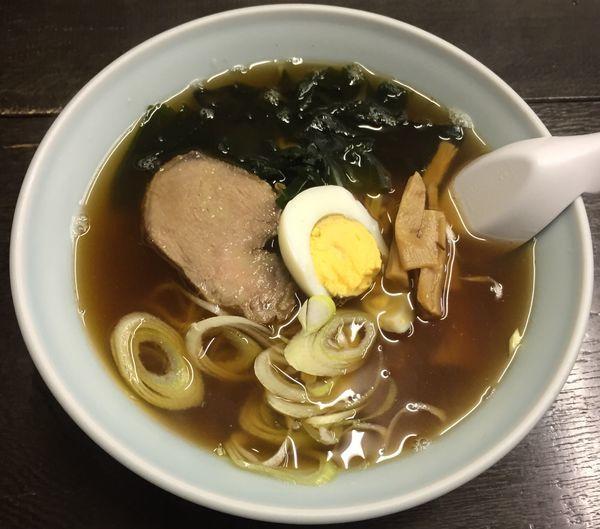 「ラーメン550円他」@中華食堂 松葉の写真