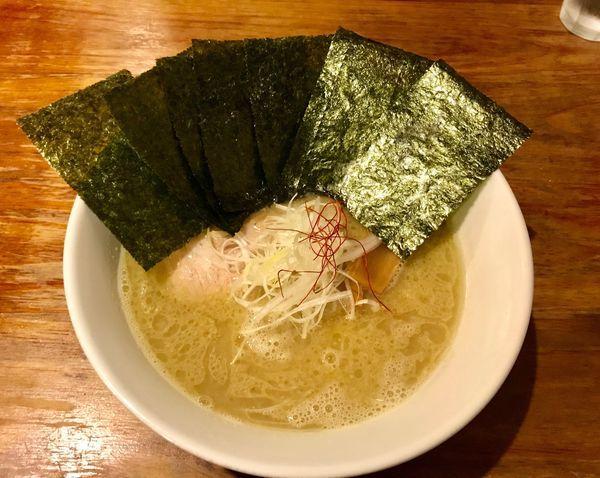 「のりラーメン(塩とんこつ)」@麺屋 蓮花の写真