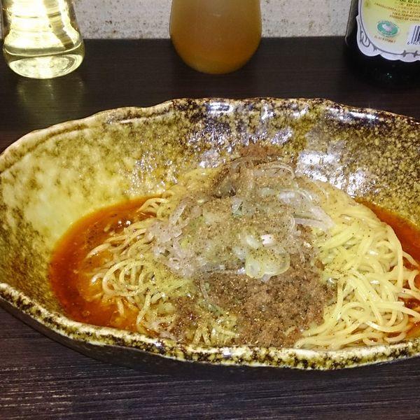 「汁なし坦々麺(580円)」@中華そば くにまつ 本店の写真