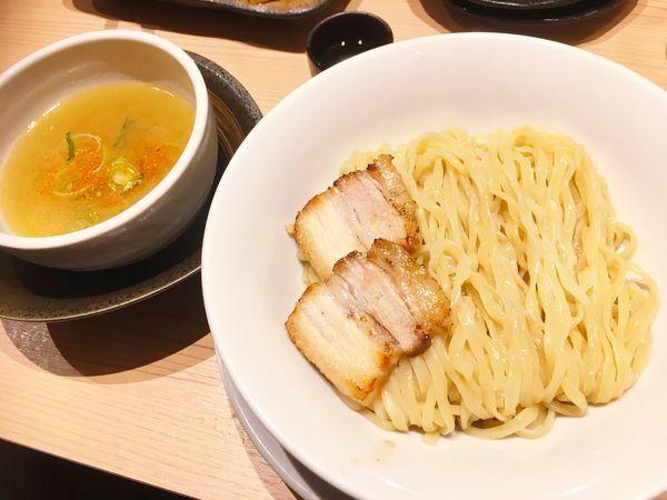 「オフ会限定 淡麗塩つけ麺」@京紫灯花繚乱の写真