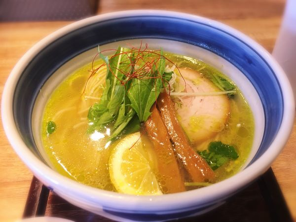 「辛味塩をらーめん+塩変え玉」@麺や Co粋の写真