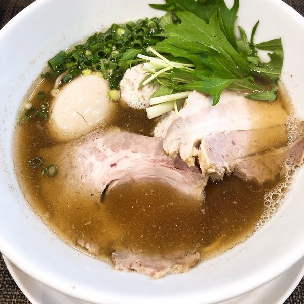 「特製醤油ラーメン ¥1200」@自家製麺ほんまの写真