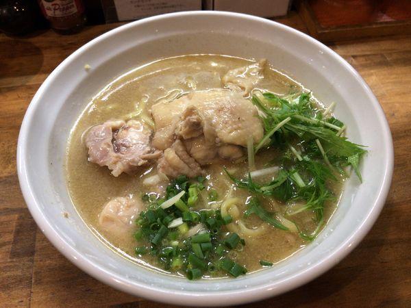 「鶏エスプレッソラーメン」@麺屋33の写真