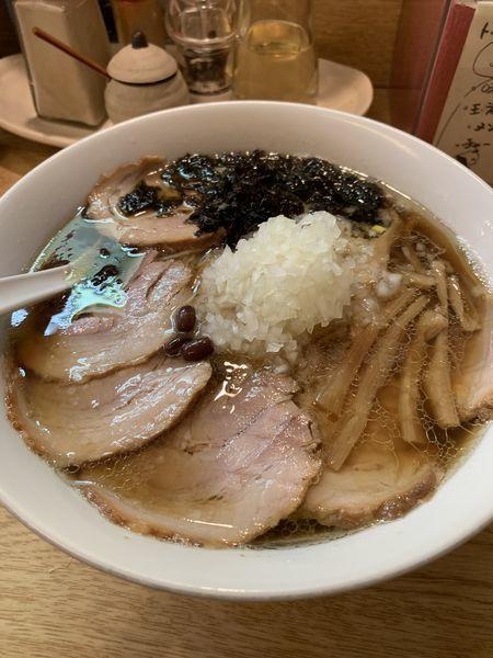 「チャーシュー麺(大盛り)」@麺処 あずきの写真