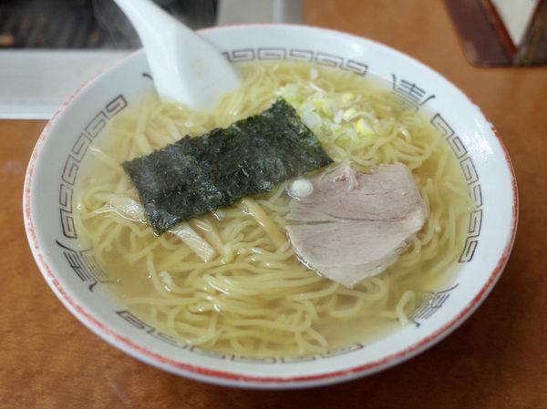 「ラーメン…550円」@食堂 寿美吉の写真