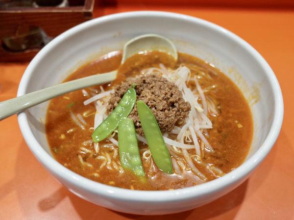 「白ゴマ担担麺…780円」@ことぶき屋の写真