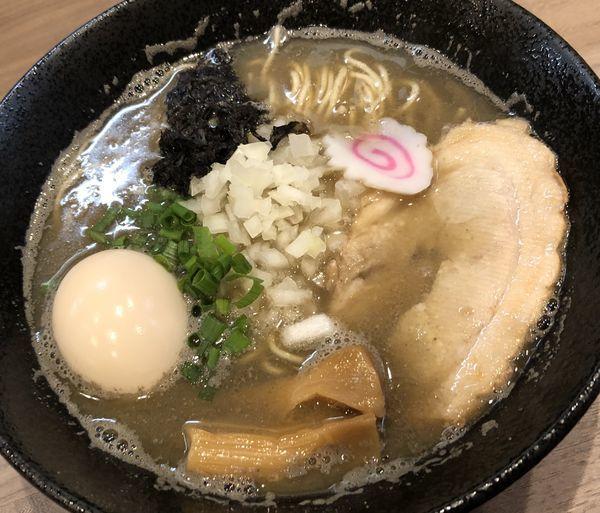 「味玉中華そば(ビター)」@煮干乃宴の写真