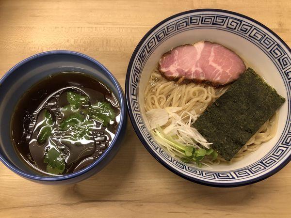 「【ぬるぬる】昆布水のあっさりつけ麺 醤油」@麺処 有彩の写真