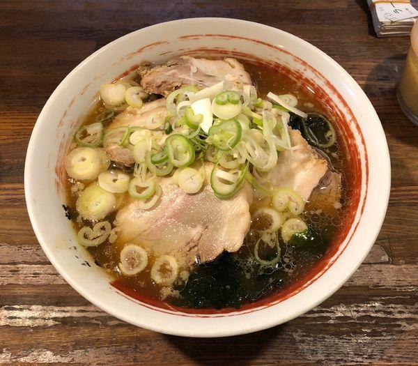 「チャーシュー麺」@高円寺ラーメン タロー軒の写真