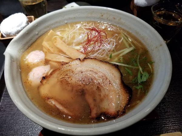 「銀笹らーめん白醤油」@麺処 銀笹の写真