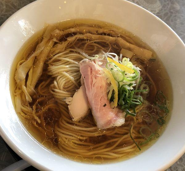 「中華そば(醤油)」@麺童 豊香の写真