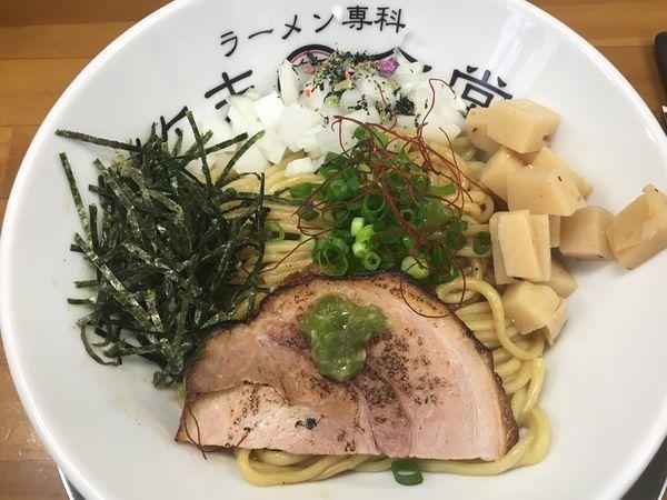 「牛香る油そば」@ラーメン専科 竹末食堂の写真