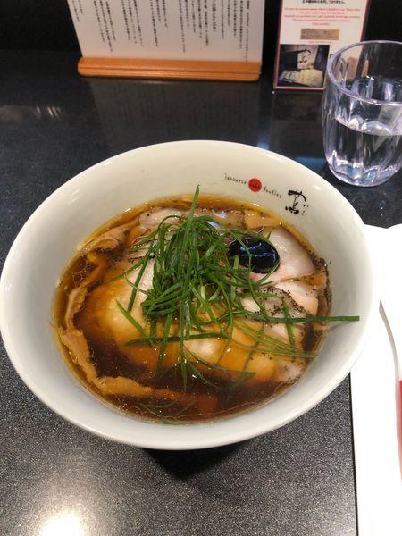 「チャーシュー醤油soba」@Japanese Soba Noodles 蔦の写真