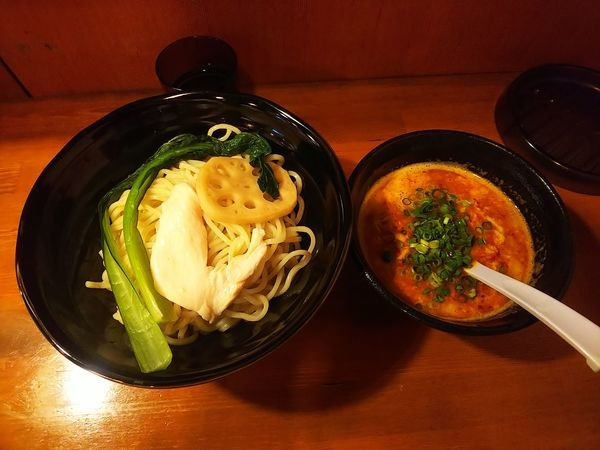 「旨辛つけ麺 中盛」@鶏ラーメン TOKUの写真