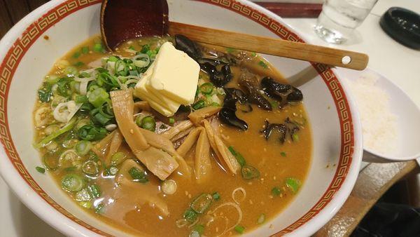 「味噌バター、ライス」@古典札幌柳麺 芳蘭の写真