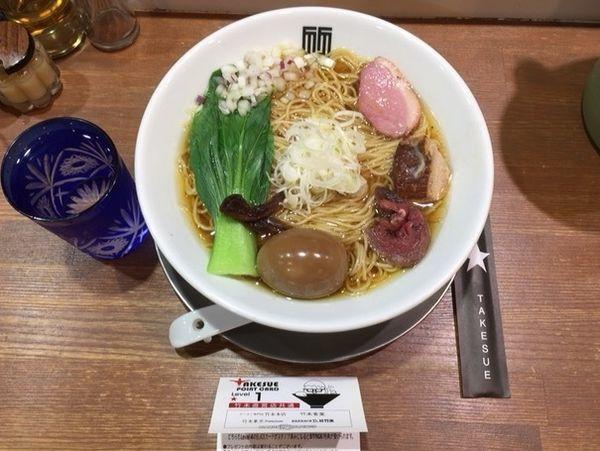 「味玉 醤油そば」@竹末東京プレミアムの写真