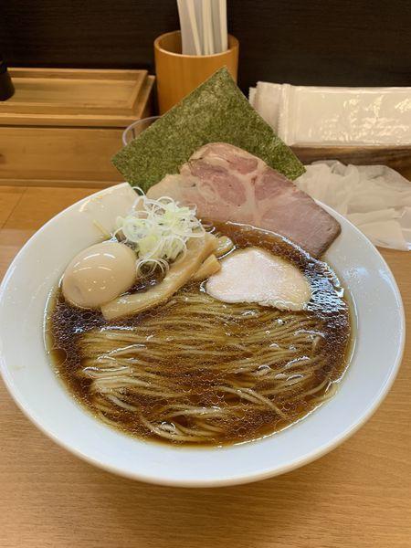 「中華そば 780円」@麺処ろくめいの写真
