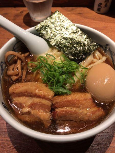 「武蔵ら〜麺  ¥1,150」@麺屋武蔵 新宿本店の写真
